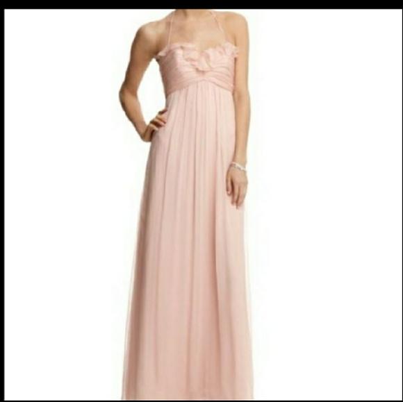 326d1e57bf Amsale Dresses   Skirts - Amsale Blush Pink 100% Silk Formal Gown